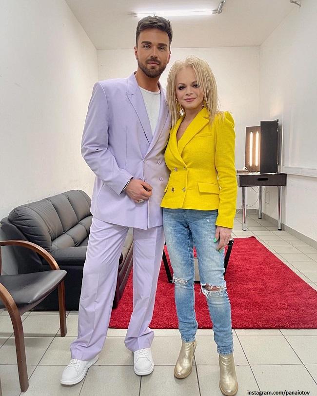 Лариса Долина и Александр Панайотов