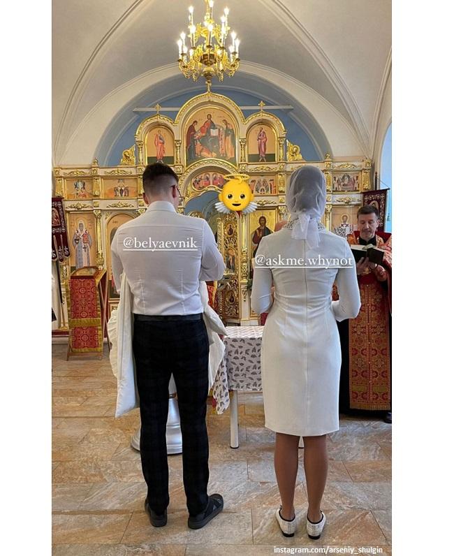 Крещение внучки певицы Валерии
