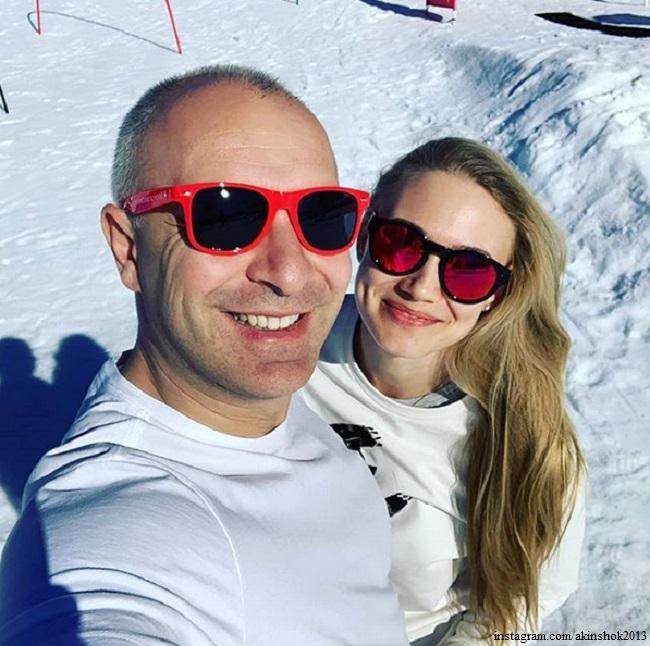 Оксана Акиньшина и Арчил Геловани