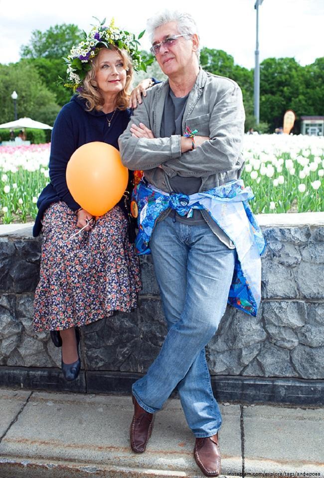 Ирина Алферова с мужем Сергеем Мартыновым