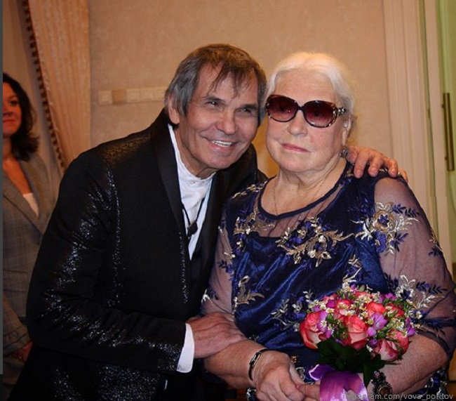 Бари Алибасов с бывшей женой