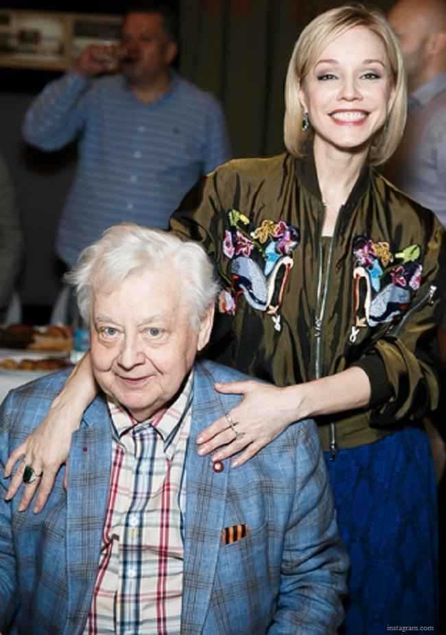 Олег табаков и марина зудина свадьба фото