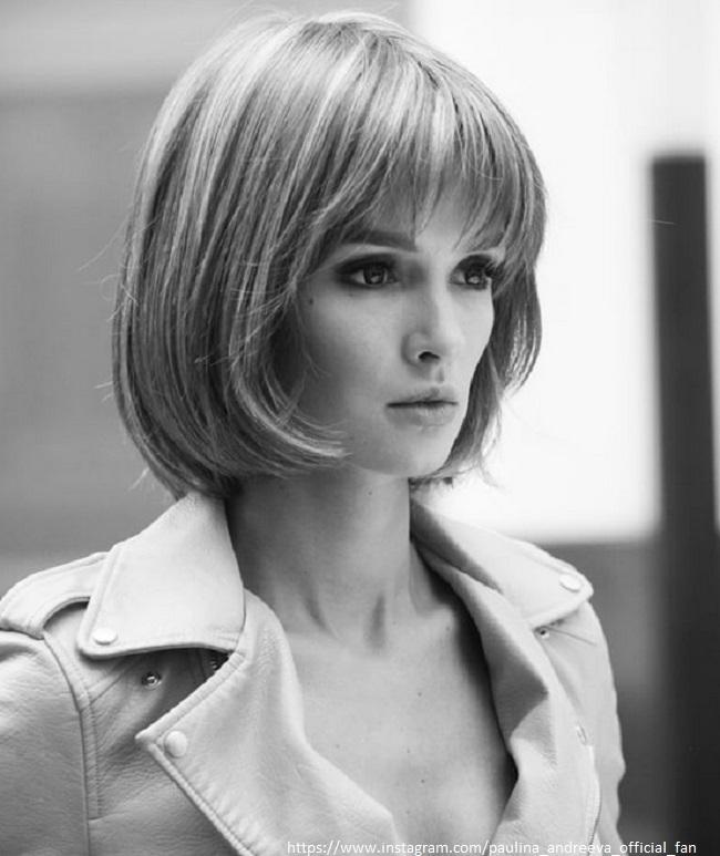 Паулина Андреева в роли робота
