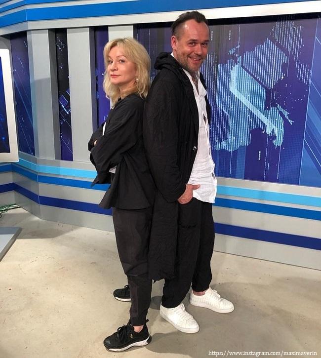 Максим Аверин с Анной Якуниной