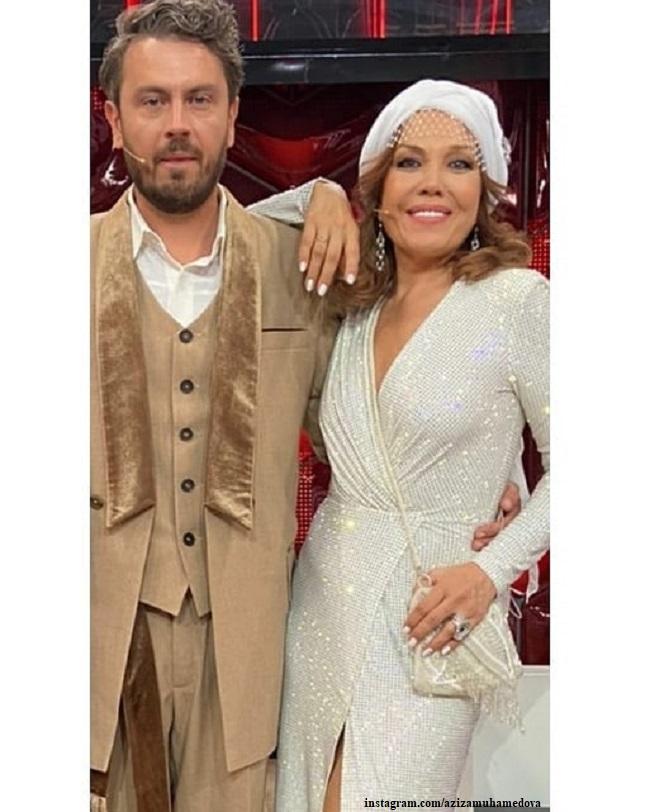 Азиза с мужем