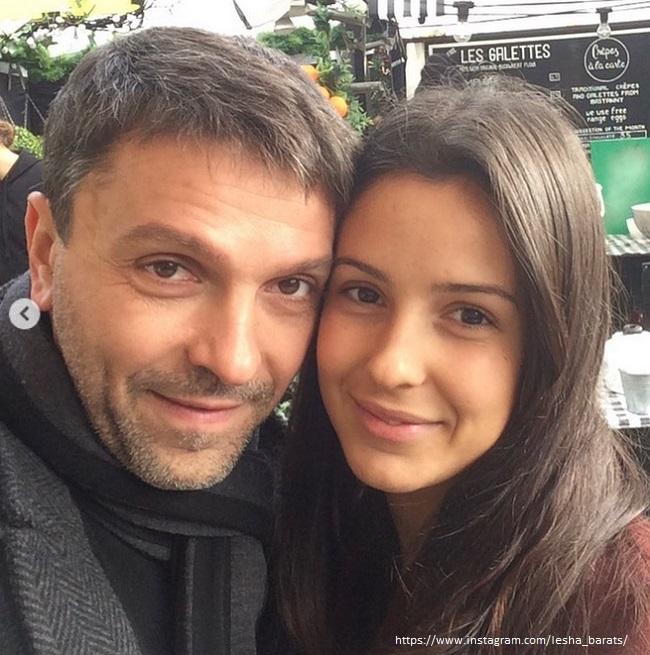 Леонид Барац со своей женой