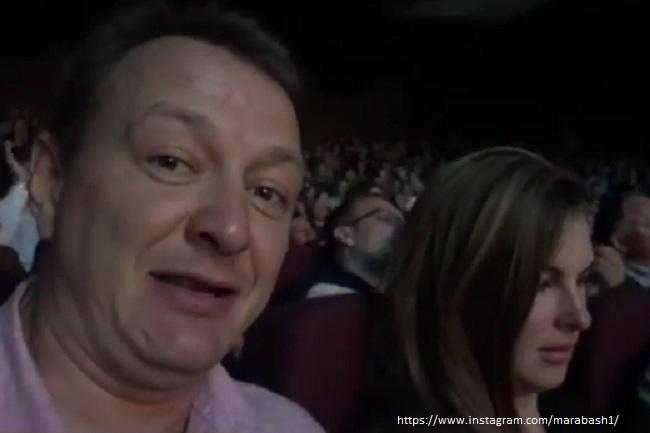 Марат Башаров с бывшей женой на концерте