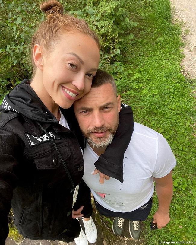 Антон Батырев с возлюбленной Анной