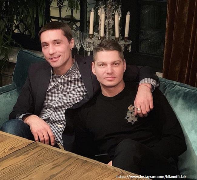 Дима Билан с другом