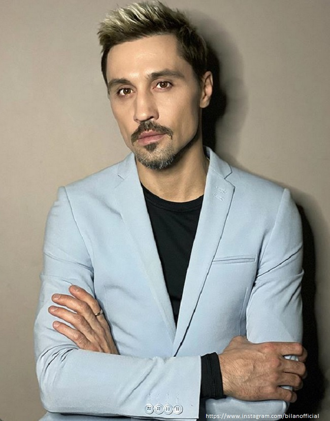 Dima Bilan scared fans with an emaciated look