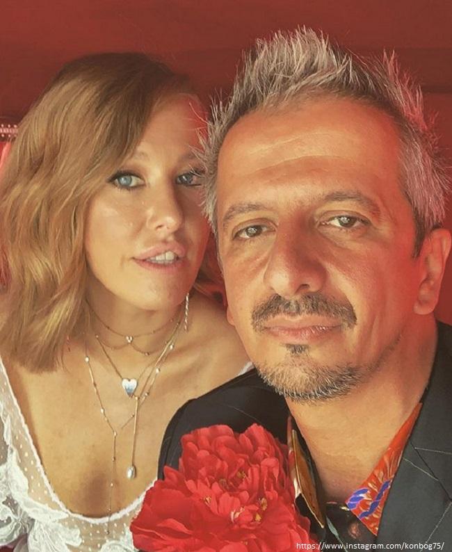 Константин Богомолов с женой