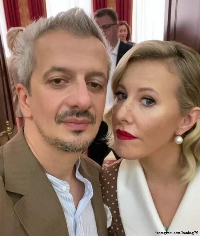 Константин Богамолов с женой
