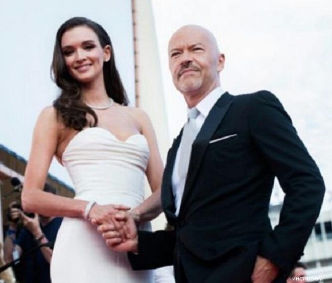 Федор Бондарчук с женой