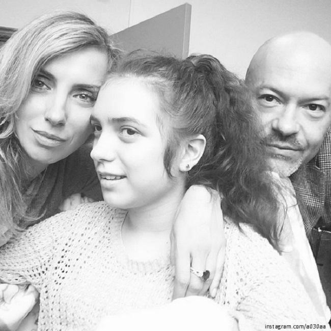 Федор Бондаручк с жейно и особенной дочерью