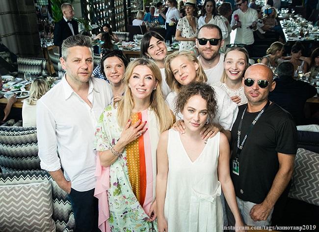 Светлана Бондарчук, Сергей Харченко, Аглая Тарасова, Екатерина Вилкова и другие гости