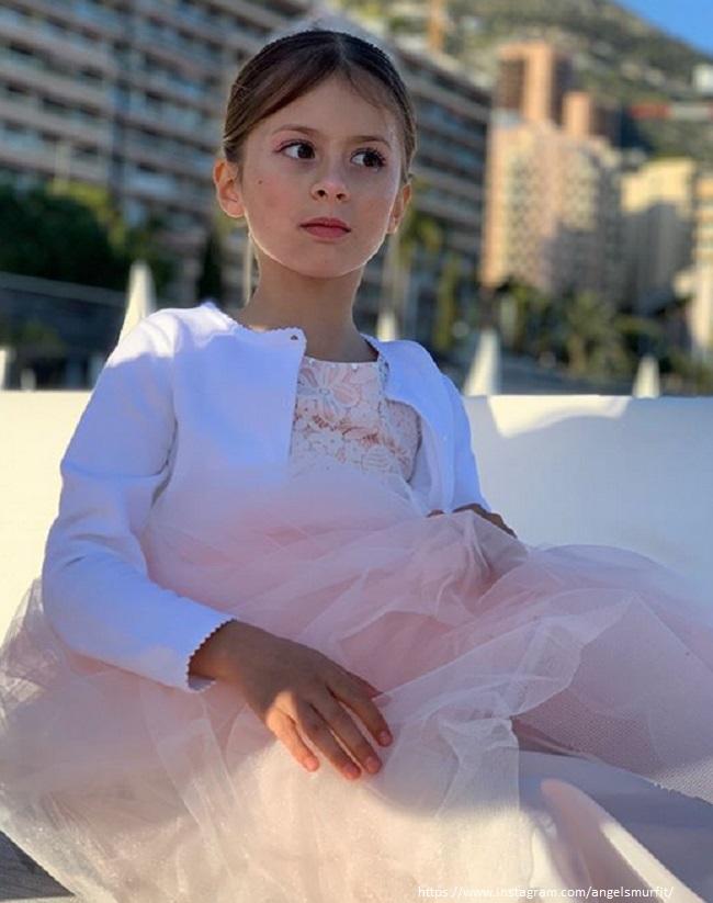 Дочь Витории Бони Анжелина