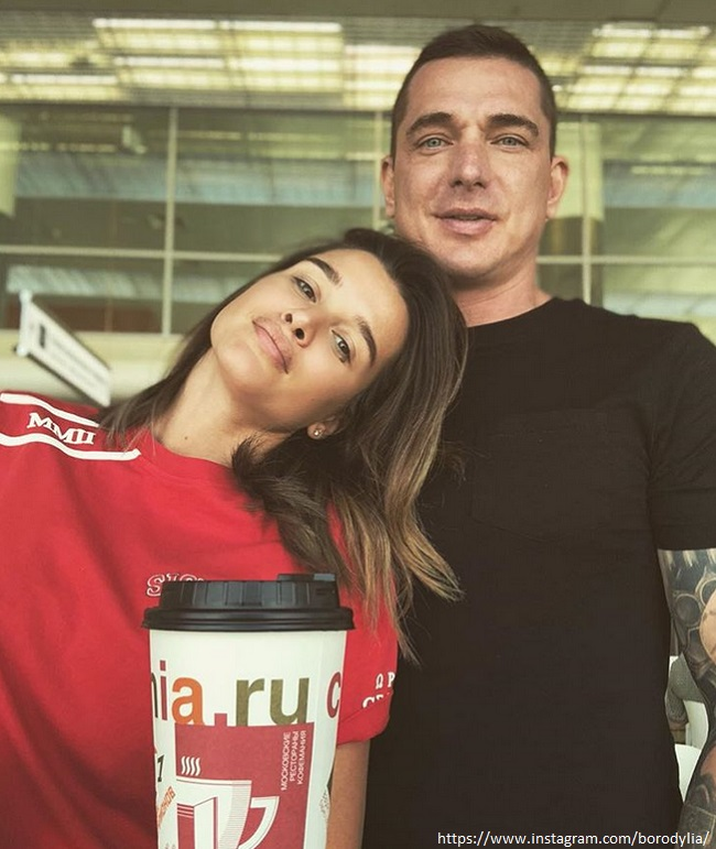 Ксения Бородина с мужем