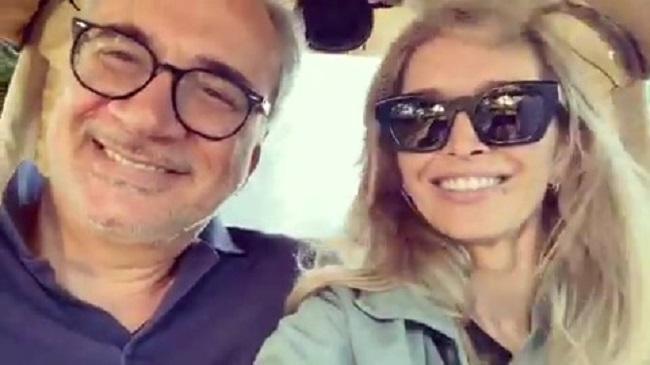 Вера Брежнева и Константин Меладзе. Кадр видео