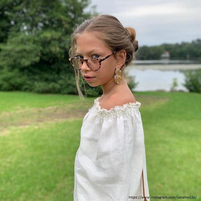 Младшая дочь Веры Брежневой Сара