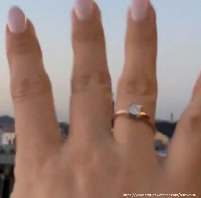 Ольга Бузова показала обручальное кольцо