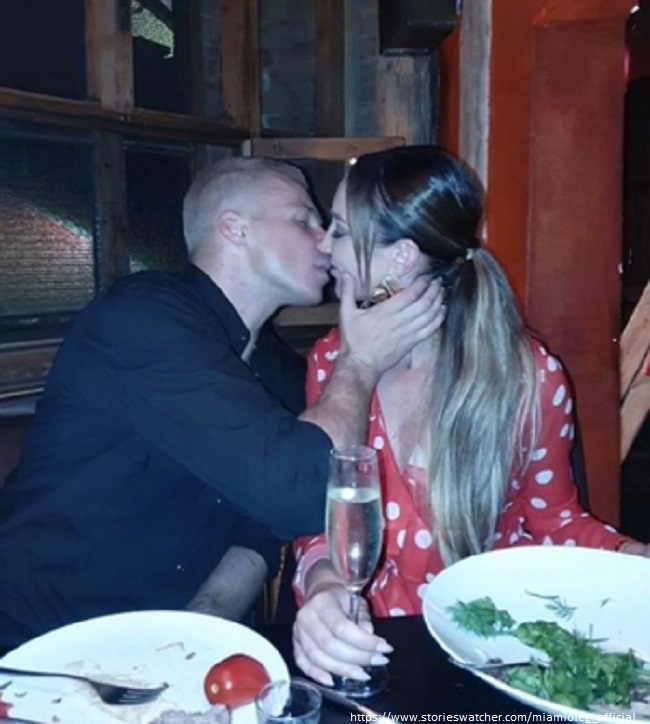Ольга Бузова целуется с Олегом Майами