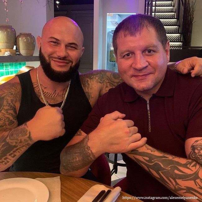 Александр Емельяненко с Джиганом