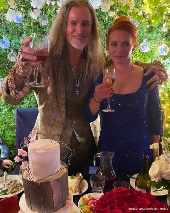 Nikita Dzhigurda played a wedding with Marina Anisina for the second time