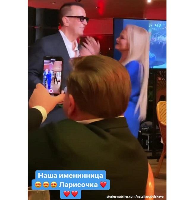 Лариса Долина и Александр Буйнов