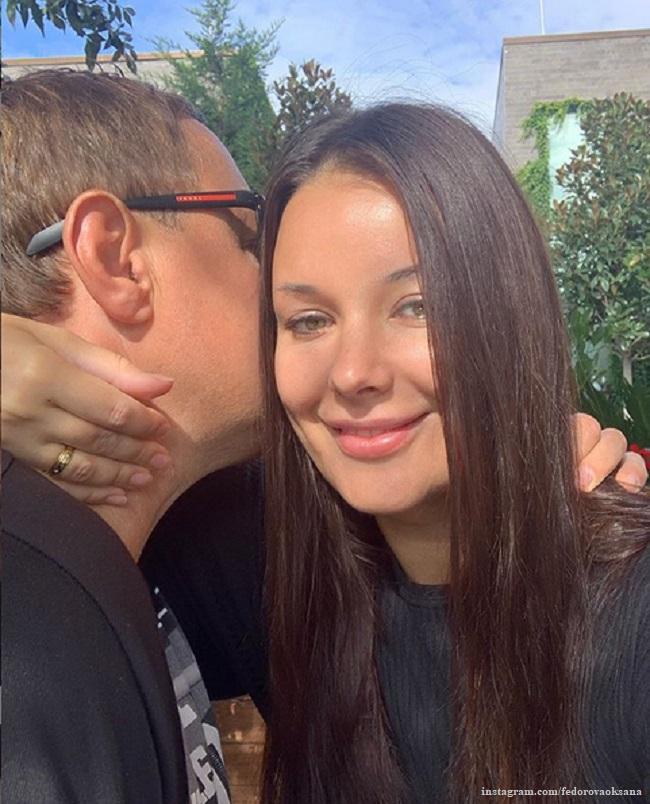 Оксана Федорова и Андрей Бородин