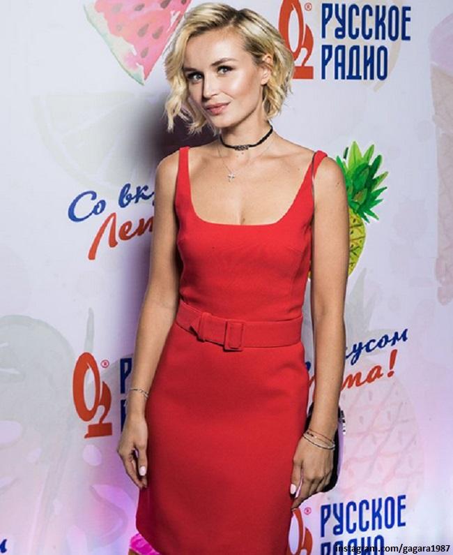 Полина Гагарина на вечеринке Love Radio