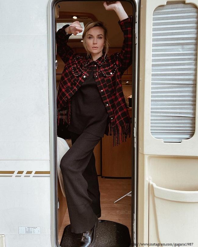 Полина Гагарина в новом доме