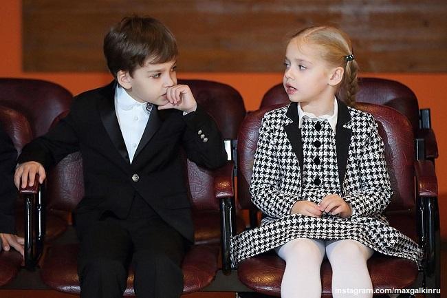 Лиза и Гарри Галкины