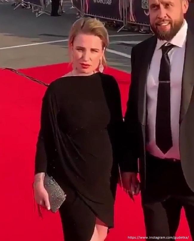 Валерия Гай Германика с мужем