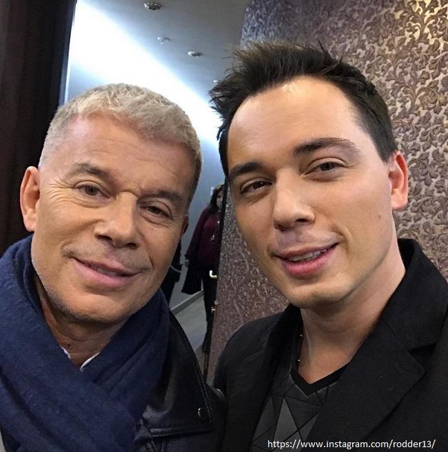 Олег Газманов с сыном