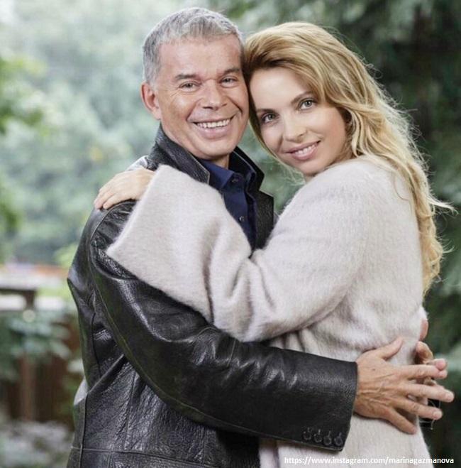 Олег Газманов с женой