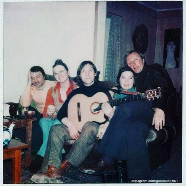 Kirill Laskari, Marina Vladi, Vladimir Vysotsky, Larisa Golubkina and Andrey Mironov