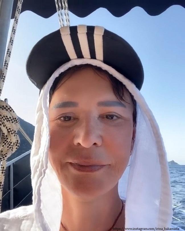 Ирина Хакамада без очков