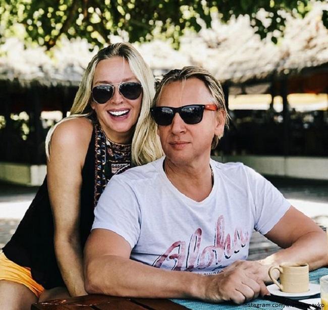 Дмитрий Харатьян и Марина Майко