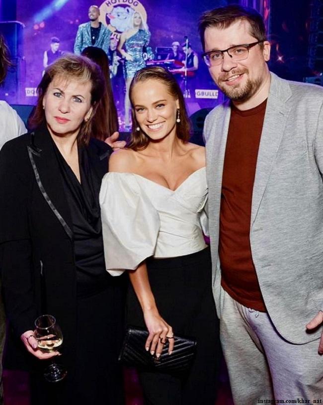 Гарик Харламов с мамой и Катерина Ковальчук