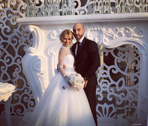 Анна хилькевич в свадебном платье