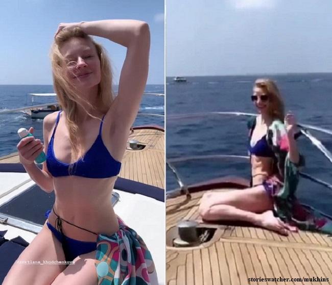 Светлана Ходченкова в Италии