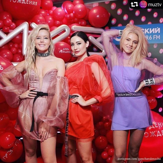 Мария Гончарук, Саша Попова и Ирина Тонева