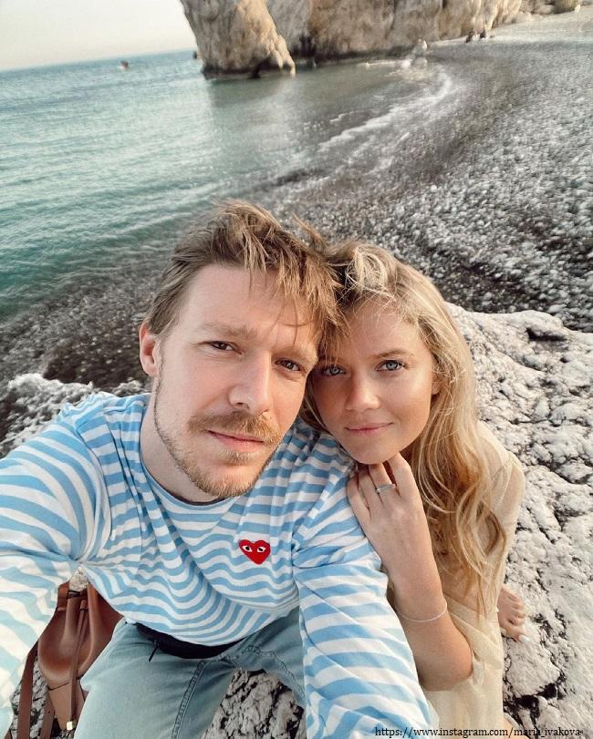 Мария Ивакова с Никитой