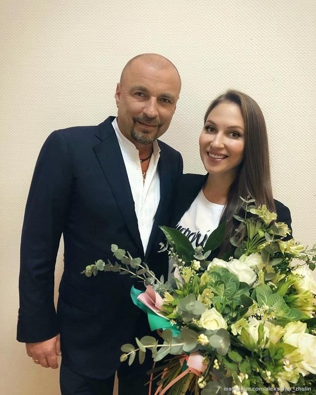 Александр Жулин с женой Натальей Михайловой