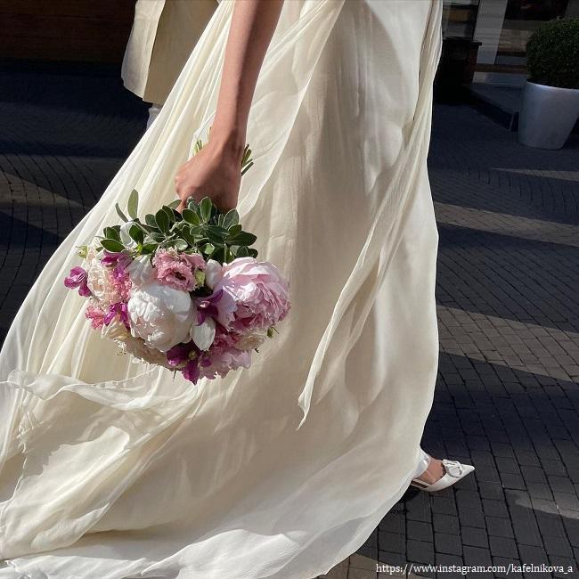 Алеся Кафельникова вышла замуж