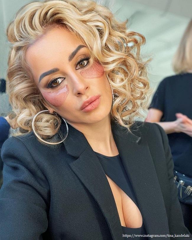 Тина Канделаки примерила образ блондинки