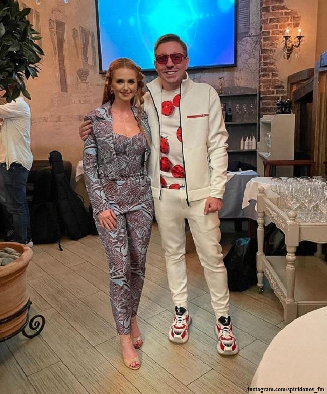 Лена Катина и Дмитрий Спиридонов