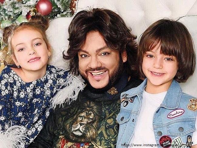 Philip Kirkorov with children