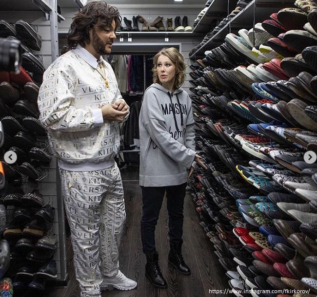 Филли Киркоров показал свой шкаф для обуви