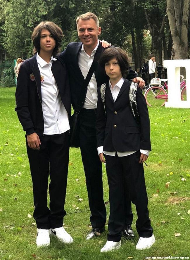 Игорь Петренко с сыновьями